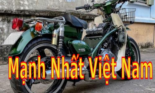 Honda Cub với khối động cơ 250cc xy-lanh đôi mạnh nhất Việt Nam