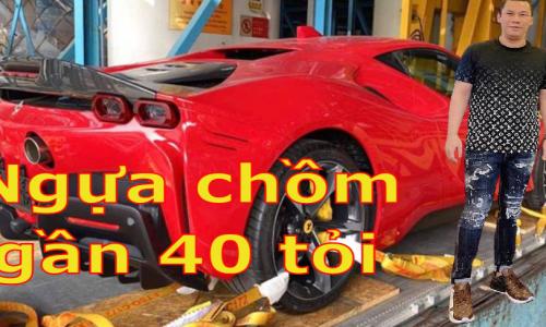 Siêu xe đầu tiên trong bộ sưu tập của đại gia Đức Huy đã âm thầm cập bến Việt Nam