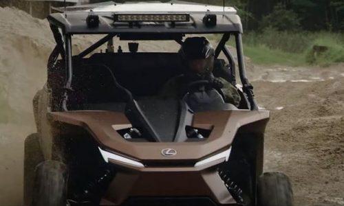 Lexus vừa cho ra mẫu xe độc đáo chạy bằng khí hydro